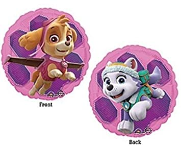 PAW PATROL GIRLS SKYE EVEREST 18quot Birthday Foil Balloon Decoration Supplies Party