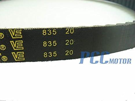 Amazon.com: 835 20 30 Scooter Unidad de cinturón 150 cc GY6 ...