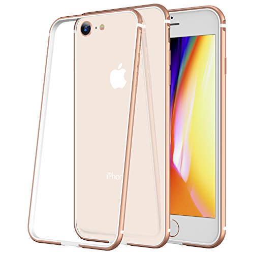 Aluminum Metal Bumper Case for Apple iPhone 7 (Gold) - 6