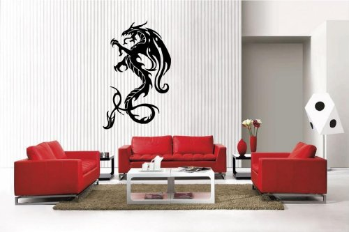 Newclew Dragon removable Vinyl Wall Decal Home Décor Large