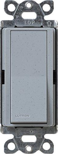 Lutron SC-1PS-BG Diva 15-Amp, 120-Volt to 277-Volt Single-pole Switch in Bluestone