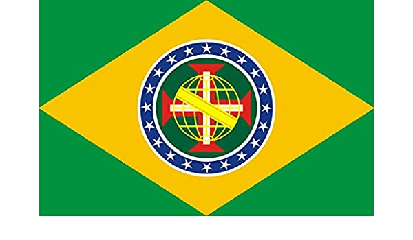 magFlags Bandera Large New Imperial Flag of Brazil | An Imaginary Flag of a New Imperial Flag of Brazil Based on and | Bandera Paisaje | 1.35m² | 90x150cm: Amazon.es: Jardín