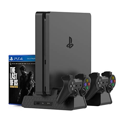 Buy New World PS4 Slim PS4 Pro Multifunction Console Vertical Stand