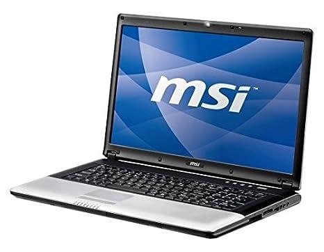 MSI Megabook CX700 CX700-083XSK ordenador portatil - Ordenador portátil (Negro, T6600,