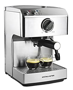 Andrew James 15 Bar Pump Barista Coffee Maker For ...