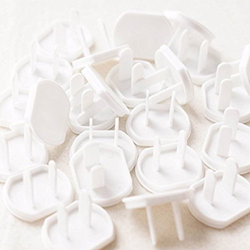 40 Count Premium Quality Childproof Outlet Covers – Value Pack – New & Improved Plastic Baby Proofing Caps – Durable & Steady – Pack of 40 Plugs by ME Superb Deals (Image #3)