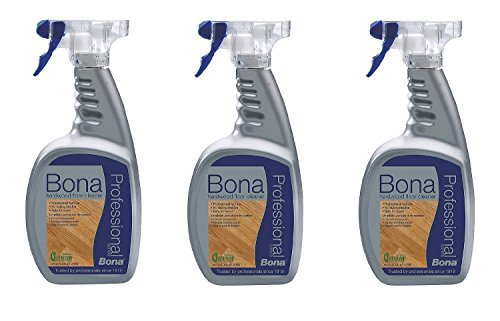 (3 PACK Bona Pro Series Wm700051187 Hardwood Floor Cleaner Ready To Use, 32-Ounce Spray)