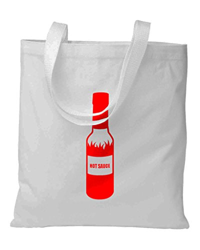 The T-shirt Press Hot Sauce Tote Bag Off-White (Tee Bag Off)