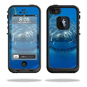 Quaroth - Protective Vinyl Skin Decal Cover for LifeProof iPhone 5 Case 1301 fre Sticker Skins Shark