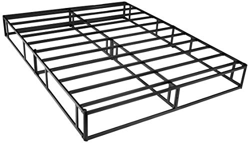 AmazonBasics Mattress Foundation / Smart Box Spring for King Size Bed, Tool-Free Easy Assembly - 9-Inch, King