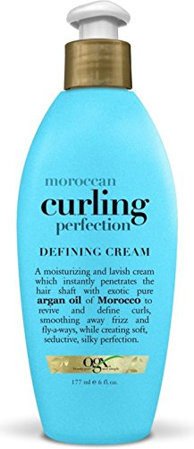 Organix Moroccan Curling Perfection Defining Cream 6 oz (Pack of 4)