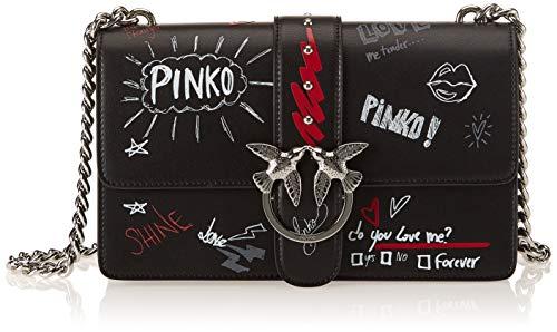 GRAFFITI Multicolore LOVE Y52L Nero Pinko Rosso Sac 1P2193 Bianco Femme t7Yqw
