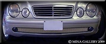 for Mercedes CLK CLK55 1997 1998 1999 2000 2001 2002 2003 AMG model Mina Gallery Lower mesh grille