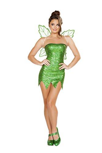 Adult Tinkerbell Costumes (Mischievous Fairy Adult Costume - Medium)