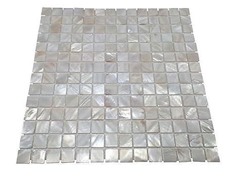 ba/ño azulejos paredes piscina para azulejos Vogue carcasa Oyster de madreperla cuadrado mosaico de azulejos para cocina backsplashes Spa