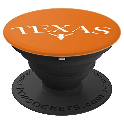 Vintage Big Texas Longhorn Bull - PopSockets Grip and Stand for Phones and Tablets ()