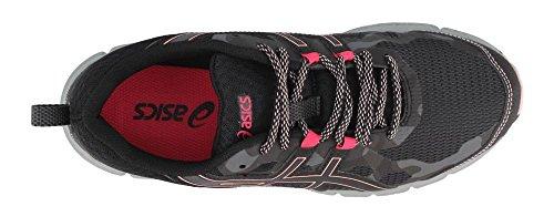 5 Dark Running 1012A170 D 4 Gel Shoe Women's 7 Scram ASICS US Black D Grey Hqw1FFg
