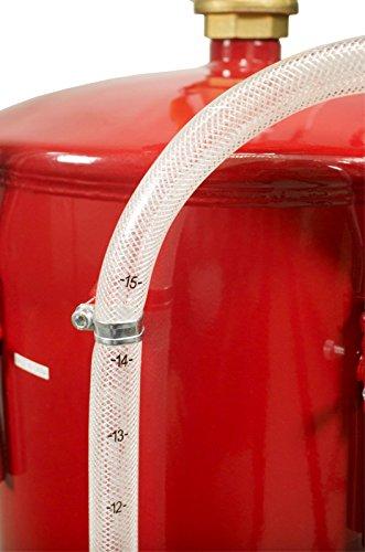 Dragway Tools 18 Gallon Oil Waste Drain Tank Pan for Lift Jack Hoist Shop Crane by Dragway Tools (Image #7)
