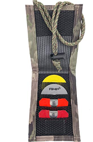 Reed Quiver Express, holds 4 Elk or Turkey diaphragm reed calls. Magnetic front cover, use with adjustable neck lanyard or attach to webbing on your backpack or Bino case with our Velco system. (Best Turkey Diaphragm Call 2019)