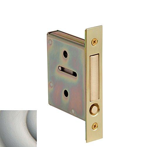 Baldwin 8601 Pocket Door Passage Mortise Body with Door Pull from the Estate Col, Satin ()