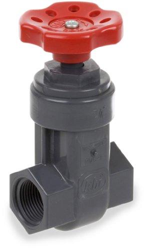 4101 Series (Smith-Cooper International 4101 Series PVC Gate Valve, Inline, 1-1/4