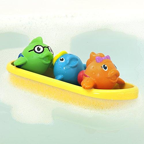 41kdWEN53WL - Munchkin Bath Toy, School of Fish