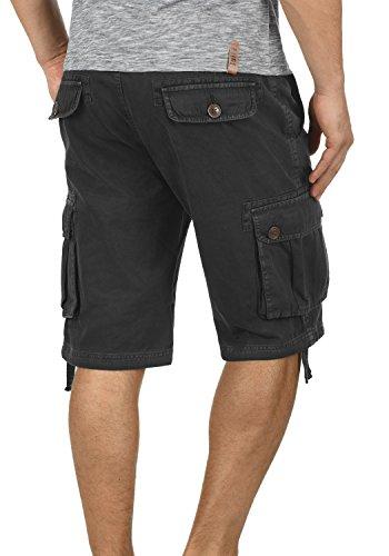 Pantalones 100 9000 Algodón Black Pantalón Cargo Regular De Bermudas Para Cortos Hombres solid Vizela fit wIpqBzAgg