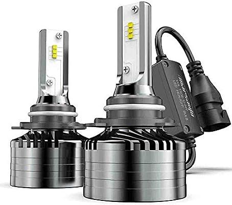 2 PCS BEAMTECH 9006 LED Headlight Bulbs,HB4 CSP Chips Headlamp 50W 6500K 8000Lumens Car Replacement Lights Low Beam//Fog Light Conversion Kit Extremely Bright