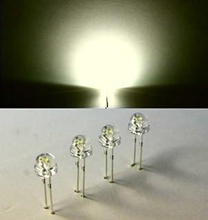 diffuse warm-weiße LED Typ WTN-5-3600ww warmwhite 20 LEDs 5mm diffus warmweiß