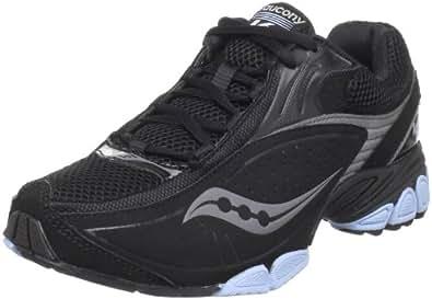 Saucony Women's Grid V2 Training Shoe,Black/Silver,6 M US