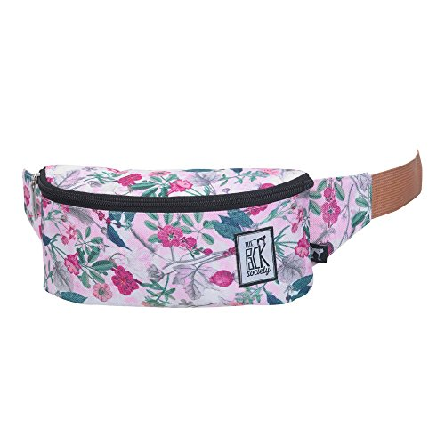 The Pack Society Rosa Botanical Bum Tasche