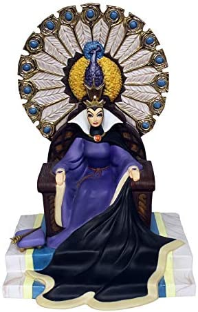 WDCC Snow White Evil Queen Enthroned Evil