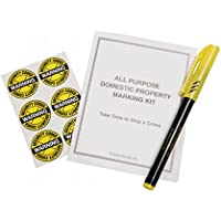 Property Marking Kit With UV Pen by HomeSecure
