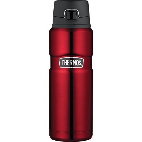 Thermos Stainless King 24 Ounce Drink Bottle, Cranberry (Thermos Stainless Steel King 24 Ounce Drink Bottle)