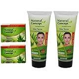 Aloevera Facewash 200ml - Pack of 2