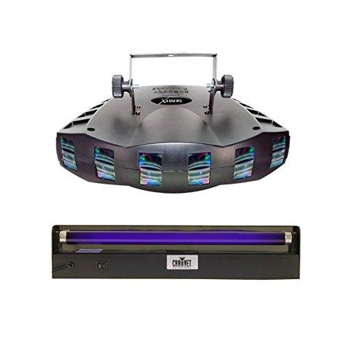 CHAUVET DERBY X RGB DMX Pro DJ Club Effect Strobe Light  NV-F18 18 Black Light