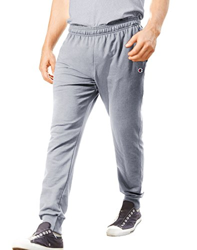 Champion Men's French Terry Jogger, Light Steel, X-Large
