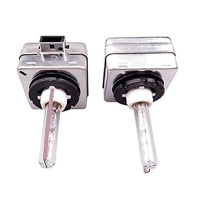 HID Xenon Headlight Bulbs - TOOGOO(R)2x HID Xenon Headlight Replacement for Philips or OSRAM Bulbs, D1S 35W/10000K