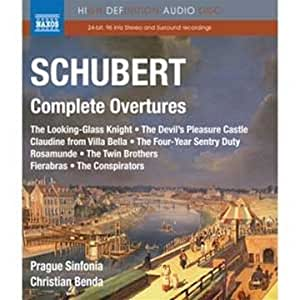 Schubert: Komplette Ouvertüren [Blu-ray Audio] [Alemania]
