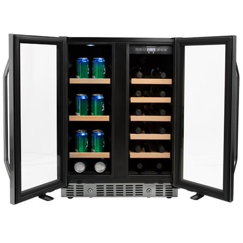 EdgeStar CWB1760FD 24 Inch Built-In Wine and Beverage Cooler with French Doors by EdgeStar (Image #8)