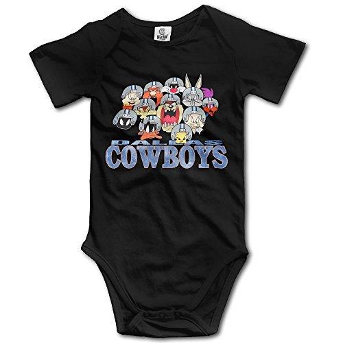 Dallas Cheerleader Outfit (Baby Onesie Dallas Cowboy Cheerleaders Infant Jumpsuit Short Sleeve)