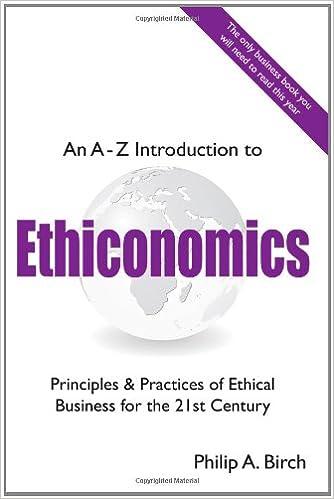 Download An a - Z Introduction to Ethiconomics PDF, azw (Kindle), ePub, doc, mobi