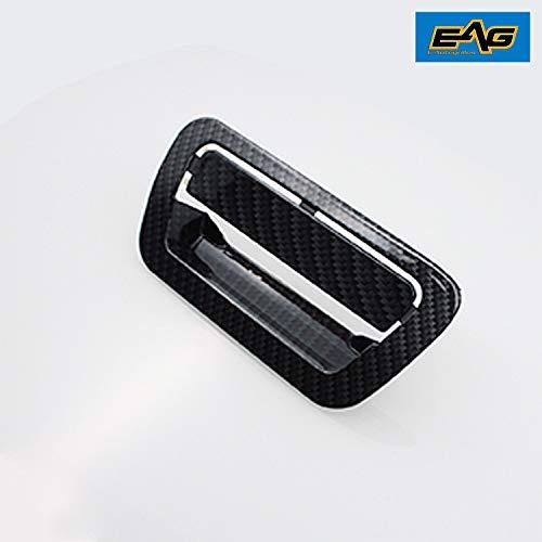 (EAG Carbon Fiber Look Door Handle Cover for 11-13 Jeep Grand Cherokee/11-13 Dodge Durango)