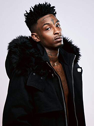 Gryposaurus 21 Savage Rapper Poster 18 × 24 Inches