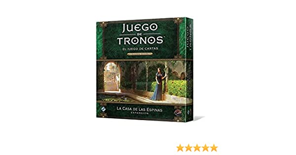 Fantasy Flight Games- Juego de Tronos lcg: la casa de Las Espinas - español, Color (FFGT29): Amazon.es: Juguetes y juegos