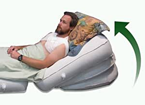 """Acid Reflux Bed Wedge - A Comfort System. Patented Adjustable Inclination COMFORT+ product 30"""" wide by 30"""" deep with adjustable inclinations to 40 degrees. Commercial-Grade. An Amazon.com exclusive product"""