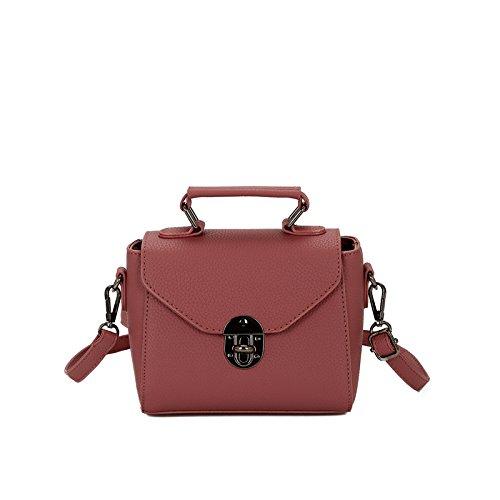 Pacchetto LiZhen femmina di autunno e inverno nuova marea coreano elegante e versatile mini party confezioni tracolla messenger bag Ladies mano sacchetti, rosso mattone