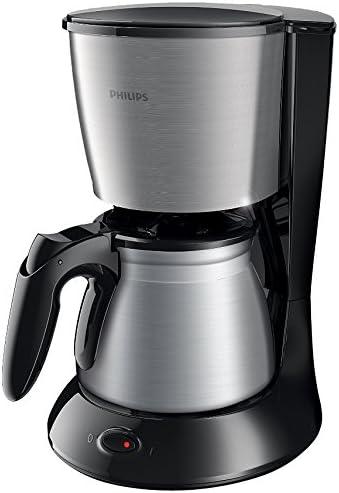 Philips HD7469/20 - Cafetera de goteo, 1000 W, color negro y gris ...