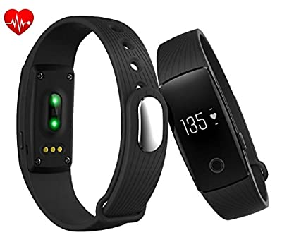 RIVERSONG VeryFit Activity Tracker Fitness Wristband Touch Screen Heart Rate Monitor