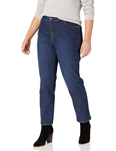 Gloria Vanderbilt Women's Amanda Classic Tapered Jean, Scottsdale Wash, 14 Short (Women Short Jeans)
